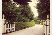 Landscape - Parking courtyard