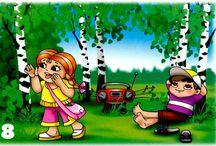 správanie v lese