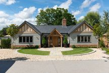 Border Oak Single Storey / Single Storey Dwellings built by Border Oak