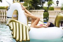 Inflatable Pool Rafts