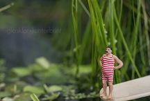 Fotografie miniaturen