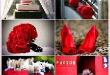 Wedding Palette Red / paleta de Bodas Rojo