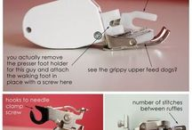 Sewing Machine Feet & How to Use...
