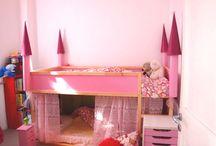 Princesas / Habitaciones temáticas de Princesas