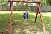 swing sets and play structures