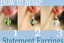 Crafts ~Jewelry::Earrings / by Shannon from Coping Via Creativity
