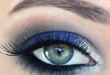 silver blue eyes