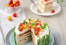 Gâteau/crêpes