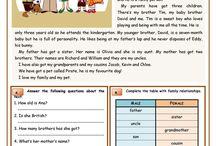 Tekster engelsk med oppgaver
