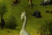 Bosch, Jheronimus / Details van zijn schilderijen: adembenemend.