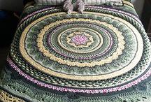 Knitting, sewing, crochet