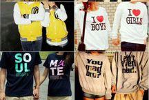 cute clothes.