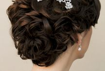 Bridal Hair Accessories - Dana Bartone / Fall 2015 Bridal Hair Accessory Collection by Dana Bartone affiliate Hair Comes the Bride including a beautiful selection of designer quality bridal hair combs, headbands, veils and bridal hair flowers.