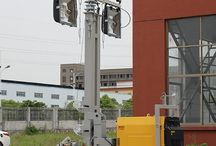 Diesel Lighting Tower / Diesel Lighting Tower offer complete flexibility with 360 degree rotation,the highest extend to 9 m meters meet your working needs.The highest 660000lm lighting with large coverage.