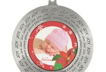 Christmas Holiday Ornaments / Lovely & trendy holiday ornaments! Check out all the customizable templates!