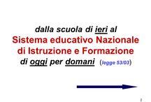 normativa scolastica