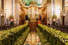 idéias decoração igreja