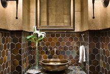 Casita Powder Room / by Becky Milward