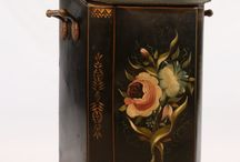Decorative painted floral