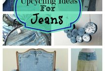 denim art and craft