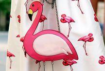 Flamingos pomponieros