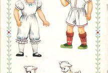 paper dolls / by Judy Roberts