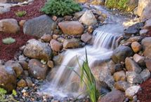 Ручей, водопад