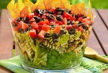 salads / by Stephanie Herrera