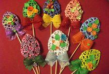 velikonoční pletení
