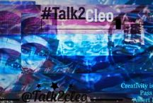 #Talk2Cleo by @deathsquadktown