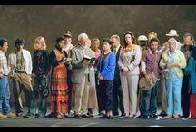 """A Mantova """"The Raft"""" di Bill Viola / A palazzo Te a Mantova, nella sala dei Giganti affrescata da Giulio Romano, il newyorkese Bill Viola porta la video-installazione sonora """"The Raft"""""""