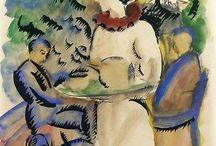 August Macke / Expresionismo