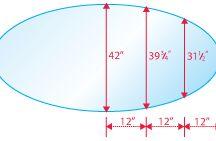 Nice E Oval Glass Table Top / E Oval Shape Glass Table Top Is An