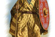 Orient-Kostüme, Männer des Volkes und der Stämme