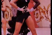 Yulia Zagoruychenko Latin Style / Yulia's awesome style: hair, makeup, dresses, shoes, legs, feet!!!