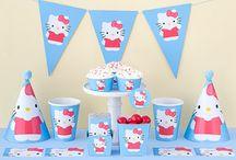Ücretsiz Hello Kitty Parti Seti