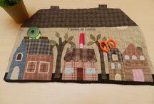 Patchwork_hogar / Objetos de patchwork para la casa
