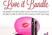 Younique kudos & rewards / Monthly specials offered by Younique and hostess rewards. The easiest way to earn free and half price products.  www.herlovelylashes.com / by Tasha Her Lovely Lashes Bruch