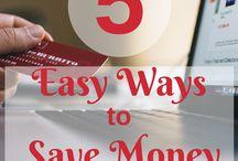 Money Saving Tips / Money saving tips, how to budget, money saving hacks, strategies, smart ways to save money, printables, money challenges and more!
