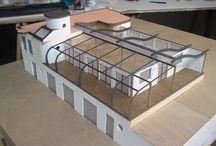Architectural models / Architectural models hand made