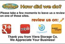 Reviews / Reviews for Viera Storage Co.