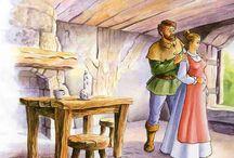 Imagens - Histórias, contos, lendas / Pintura, ilustração e arte decorativa