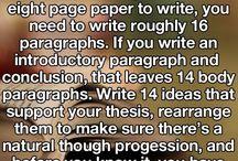 Exam ideas