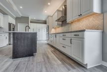 White Rustic Kitchen and Bath