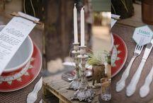 Bohemian Wedding Inspiration / Ideas for a bohemian-styled wedding