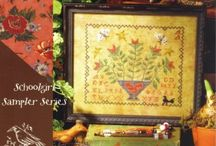 Flower Cross Stitch / by Stitch and Frog Cross Stitch
