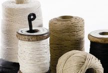 Twine,String,Yarn,Linen / by Gay Edelson