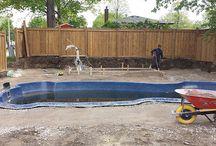 Interlock Pool Deck and New Sod Installation – Mississauga
