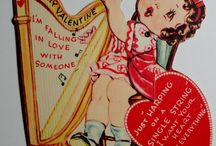 Valentine Harps / Cute Valentine's Day cards with a harp theme.