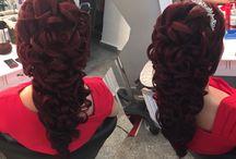 Bridal hair / Bridal hair #long #accesories